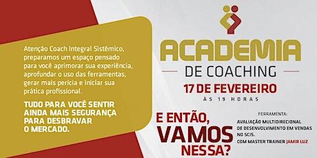 [Palmas-TO] Academia de Coaching  - 17/02/2020 ingressos