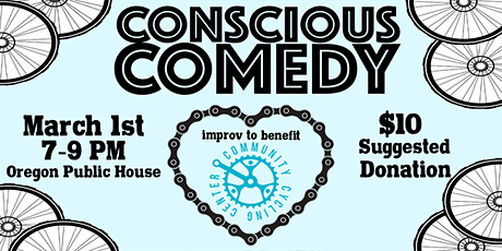 Conscious Comedy for Community Cycling Center! tickets