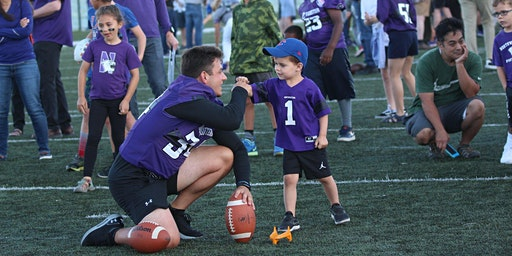2020 Northwestern Football Youth Clinic
