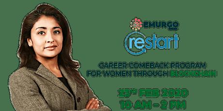 EMURGO – WOMEN'S RESTART Register Yourself For a Career Makeover. tickets