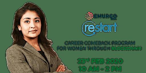EMURGO – WOMEN'S RESTART Register Yourself For a Career Makeover.