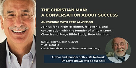 Willow Creek Men's Series - Pete Alwinson tickets
