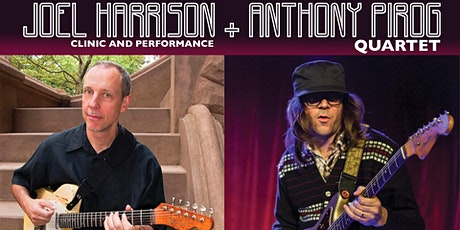 Joel Harrison & Anthony Pirog Quartet at Stages on Saturday, 3/28 tickets