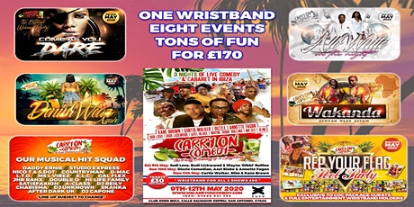 CARRY ON COMEDY 2020: Entertainment Wristband tickets