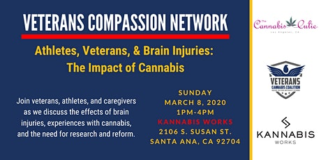 Veterans, Athletes, & Brain Injuries: The Impact of Cannabis tickets