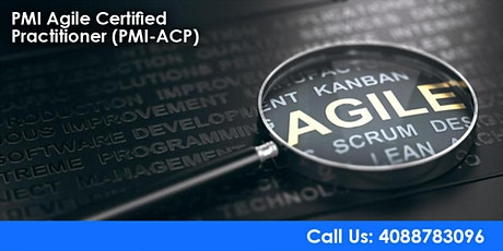 PMI-ACP (PMI Agile Certified Practitioner) Training in San Francisco tickets