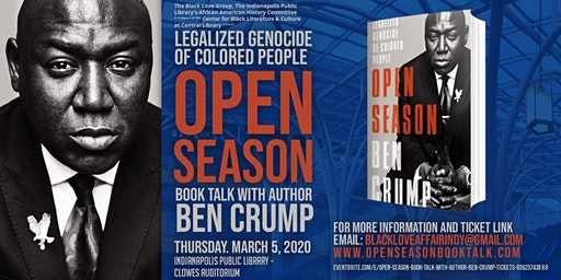 Open Season Book Talk with Author Ben Crump