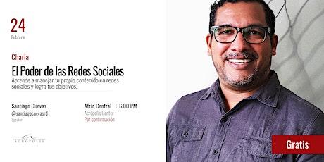 Charla: ¨El Poder de las Redes Sociales. entradas