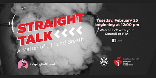 GISD CPTAs Texas PTA  Event - Straight Talk:  A Matter of Life and Breath