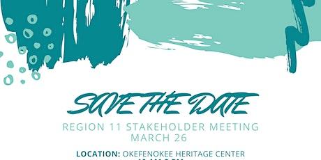 Region 11  C3 Stakeholder Meeting tickets