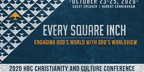 HBC Christianity and Culture Conference tickets