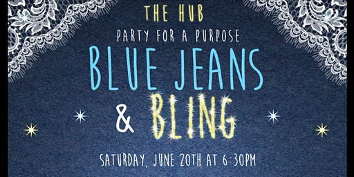 Blue Jeans and Bling -Party for a Purpose