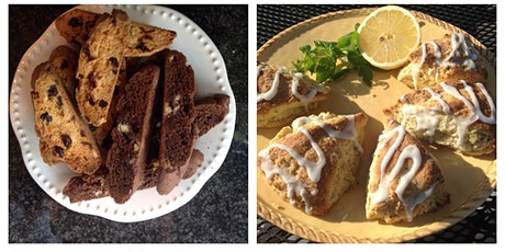 Adult Baking Series - Biscotti & Scones with Bill the Baker tickets