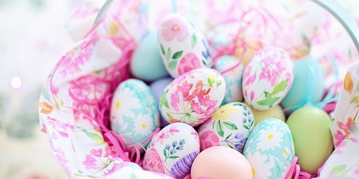 Easter Egg Decorating Workshop with Decoupage (Adults)