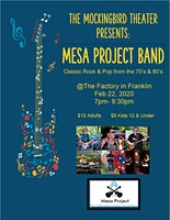 Mesa Project Band at Mockingbird Theater (Classic covers)