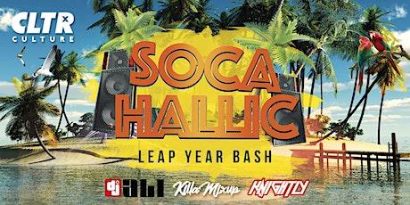 Socahallic @CLTR | Leap Year Bash tickets