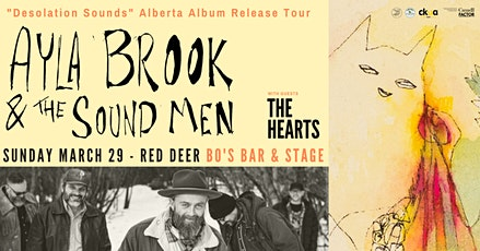 AYLA BROOK & THE SOUNDMAN w/ THE HEARTS tickets