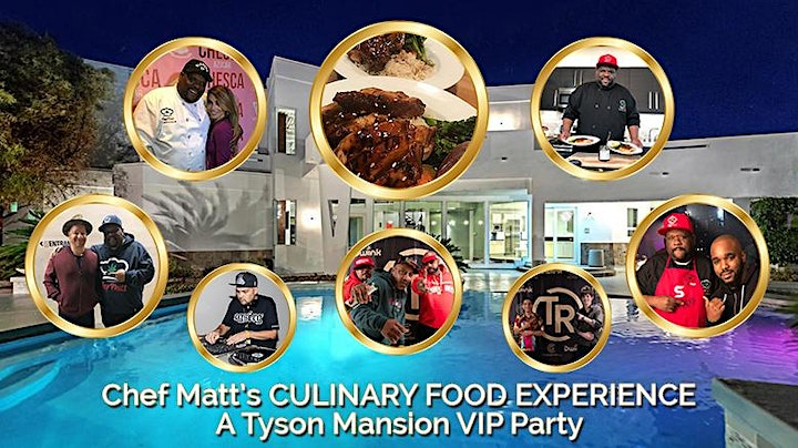 Chef Matt B to B Networking & Culinary Food Experience Celebrity VIP Party image