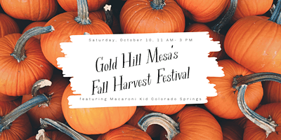 Macaroni Kid at Gold Hill Mesa's Fall Harvest Festival