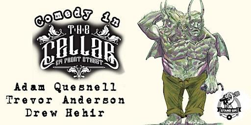 Comedy in the Cellar - Adam Quesnell