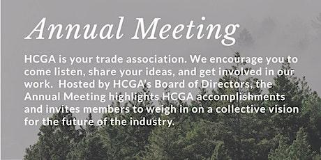 HCGA Annual Meeting & 3-Year Anniversary tickets