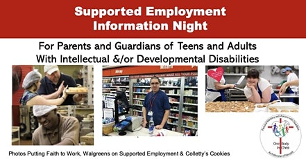 Supported Employment Information Night tickets