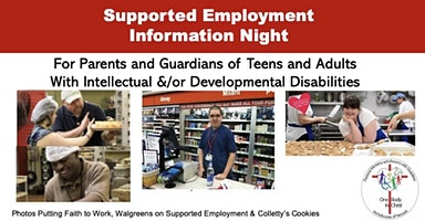 Supported Employment Information Night