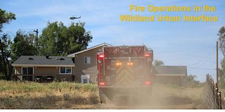 Julian - Fire Operations in the Wildland Urban Interface tickets