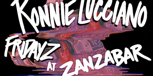 Ronnie Lucciano at Zanzabar