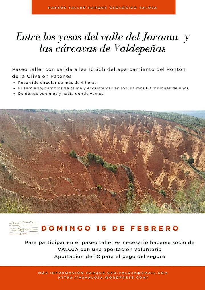 Imagen de Paseo-Taller VALOJA: Yesos del Valle del Jarama y Cárcavas de Valdepeñas