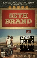 Seth Brand: Live Music at Sirens