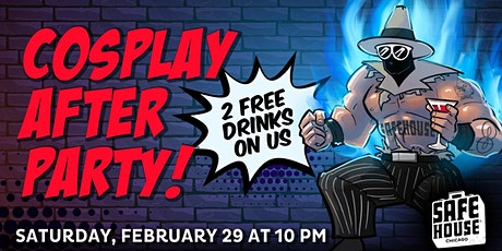 SafeHouse Chicago Cosplay After Party! tickets