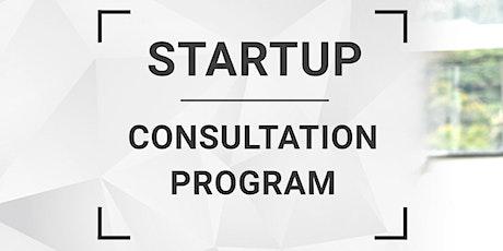 Startup Consultation Program tickets