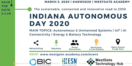 INDIANA AUTONOMOUS DAY 2020 tickets