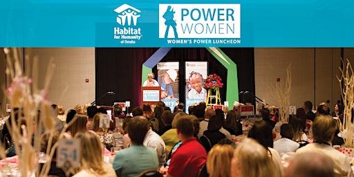 2020  Women's Power Luncheon