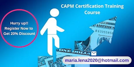 CAPM Certification Training in Appleton, ME tickets