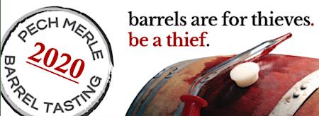 2020 VIP Wine Club Barrel Tasting & Spring Pick Up Soiree!