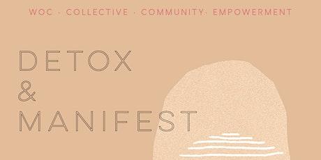 Detox & Manifest tickets