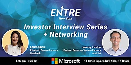 Investor Interview Series + Networking tickets