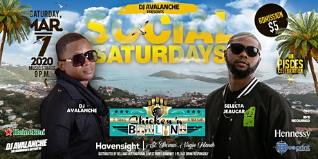 Social Saturdays I A Scorpio Celebration tickets