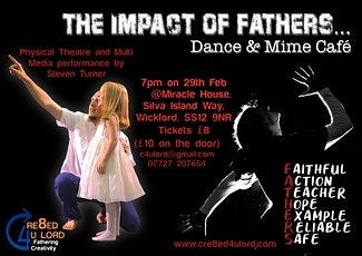 Impact of Fathers, Dance and Mime Cafe, Wickford tickets