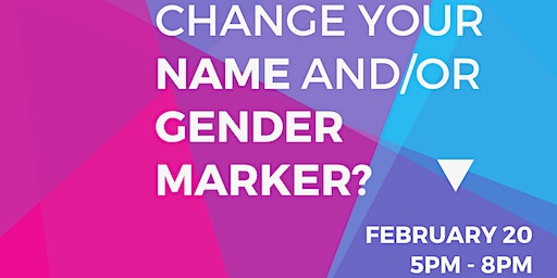 Gender Affirmation Project Clinic 2/20 Travis County Law Library