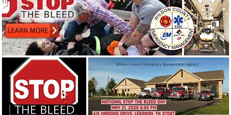 STOP THE BLEED-National Stop the Bleed day May 21st tickets