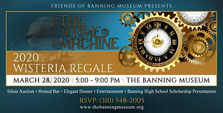 2020 Wisteria Regale - The Time Machine tickets