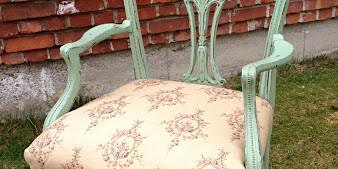 Vintage Chair Painting