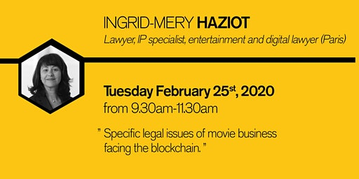 Specific legal issues of movie business facing the blockchain.