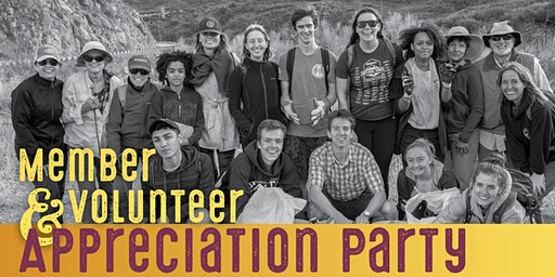 ForestWatch Member and Volunteer Appreciation Party