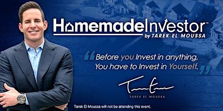Free Homemade Investor by Tarek El Moussa Workshop: Clayton Feb 29th tickets