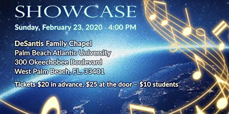 A Musical World Showcase tickets