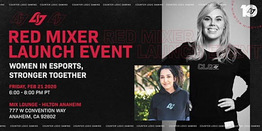 RED MIXER: Women in Esports, Stronger Together.